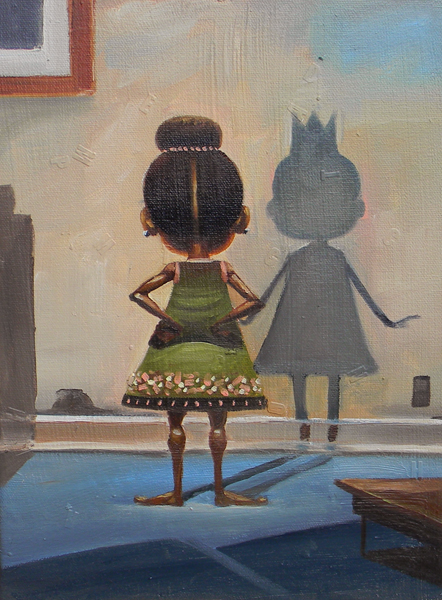 I See a Queen in Me Limited Edition Giclee on Canvas $180 Frank Morrison